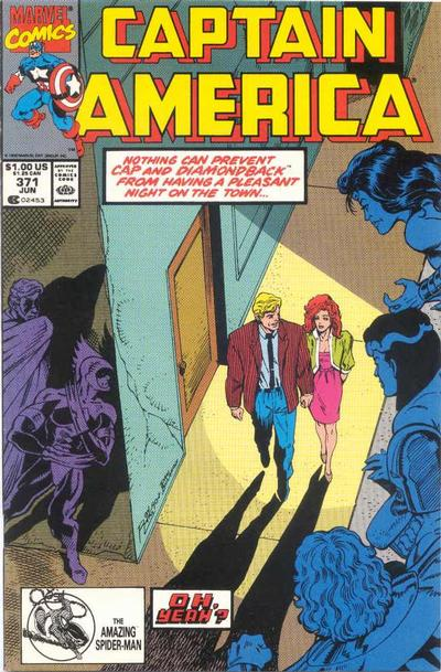 Cover for Captain America (Marvel, 1968 series) #371 [Newsstand Edition]