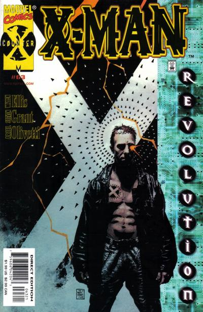 Cover for X-Man (Marvel, 1995 series) #63 [Direct Edition]