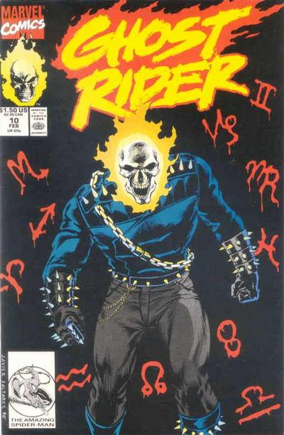 Cover for Ghost Rider (Marvel, 1990 series) #10