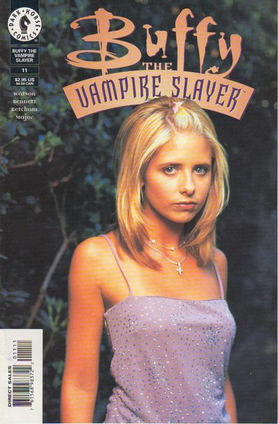 Cover for Buffy the Vampire Slayer (Dark Horse, 1998 series) #11 [Photo Cover]