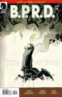 Cover Thumbnail for B.P.R.D.: King of Fear (Dark Horse, 2010 series) #5