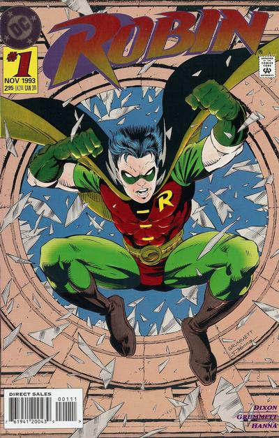 Cover for Robin (1993 series) #1 [Embossed Foil]