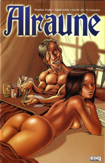 Cover for Alraune (Fantagraphics, 2001 series) #8