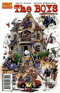 Cover Thumbnail for The Boys (Dynamite Entertainment, 2007 series) #24