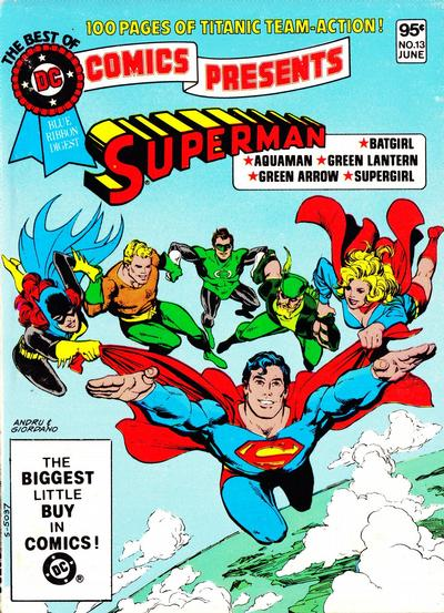 Cover for The Best of DC (1979 series) #13 [Newsstand]