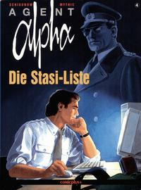 Cover Thumbnail for Agent Alpha (comicplus+, 1997 series) #4 - Die Stasi-Liste