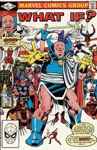 Cover Thumbnail for What If? (Marvel, 1977 series) #34 [Direct]
