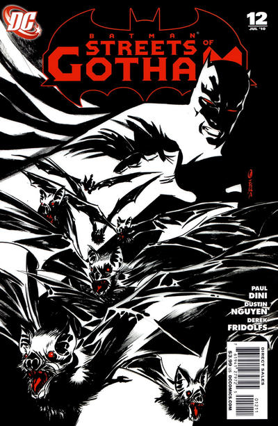 Cover for Batman: Streets of Gotham (DC, 2009 series) #12