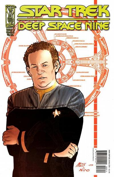 Cover for Star Trek: Deep Space Nine: Fool's Gold (2009 series) #3 [Cover A]