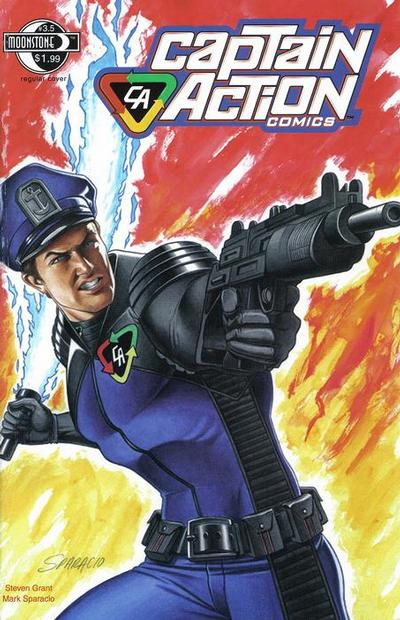 Cover for Captain Action Comics (2008 series) #3.5