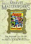 Cover for Marvel Masterworks: The Avengers (Marvel, 2003 series) #10 (137) [Limited Variant Edition]