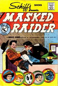 Cover Thumbnail for Masked Raider (Charlton, 1959 series) #10 [Schiff's Shoes]