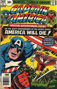Cover Thumbnail for Captain America (Marvel, 1968 series) #200 [30¢ Price Variant]