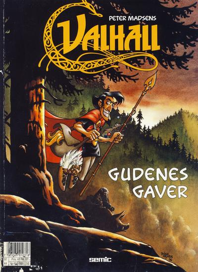 Cover for Valhall (Semic, 1987 series) #10 - Gudenes gaver