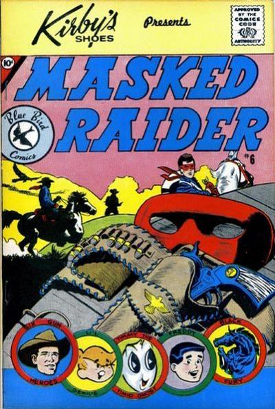 Cover for Masked Raider (Charlton, 1959 series) #6 [Kirby's Shoes]
