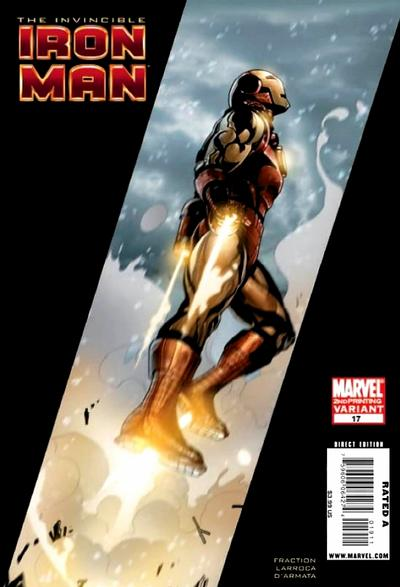 Cover for Invincible Iron Man (Marvel, 2008 series) #17