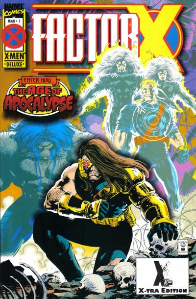Cover for Factor X (1995 series) #1 [Direct Edition]