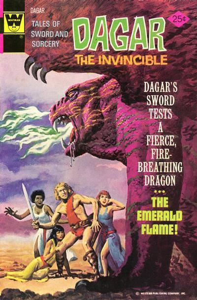 Cover for Tales of Sword and Sorcery Dagar the Invincible (Western, 1972 series) #10 [Whitman Variant]