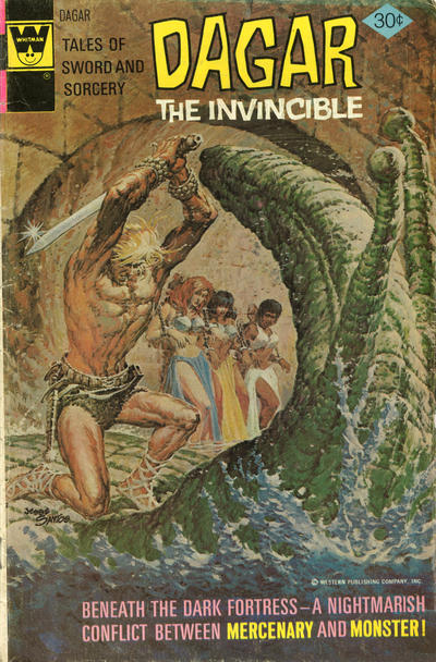 Cover for Tales of Sword and Sorcery Dagar the Invincible (Western, 1972 series) #17 [Whitman Cover]