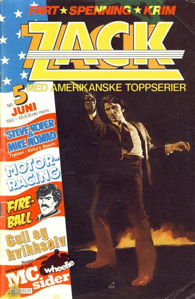 Cover for Zack (1983 series) #5/1983