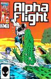 Cover for Alpha Flight (Marvel, 1983 series) #41 [Direct Edition]