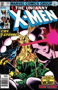 Cover Thumbnail for The Uncanny X-Men (Marvel, 1981 series) #144 [Newsstand Edition]