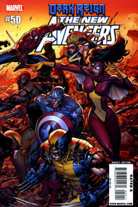 Cover Thumbnail for New Avengers (Marvel, 2005 series) #50