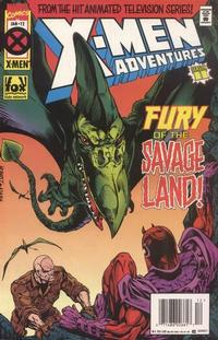 Cover Thumbnail for X-Men Adventures [II] (Marvel, 1994 series) #12 [Newsstand Edition]
