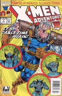 Cover Thumbnail for X-Men Adventures [II] (Marvel, 1994 series) #7 [Newsstand Edition]
