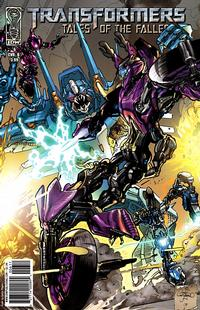 Cover for Transformers: Tales of the Fallen (2009 series) #6 [Cover A]