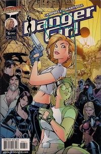 Cover for Danger Girl (DC, 1999 series) #6 [J. Scott Campbell Standard Cover]