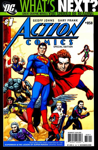 Cover for Action Comics #858 Special Edition (2010 series) #[nn]