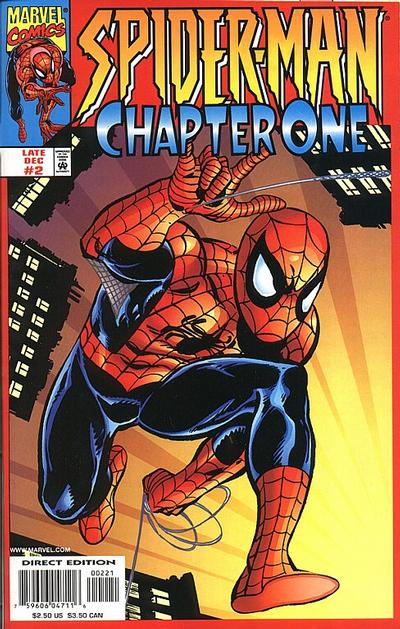 Cover for Spider-Man: Chapter One (Marvel, 1998 series) #2 [Cover A]