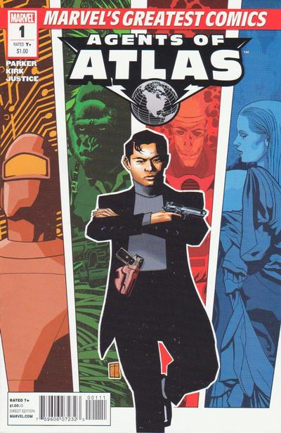 Cover for Agents of Atlas MGC (2010 series) #1