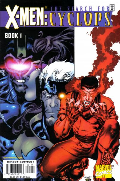 Cover for X-Men: Search for Cyclops (2000 series) #1 [Adam Pollina Variant]