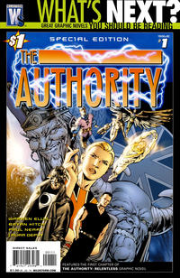 Cover Thumbnail for The Authority #1 Special Edition (DC, 2010 series)