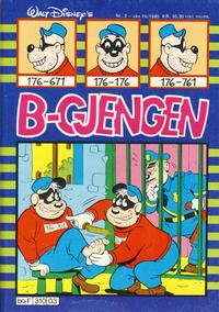 Cover Thumbnail for B-gjengen (Hjemmet, 1985 series) #3/1985