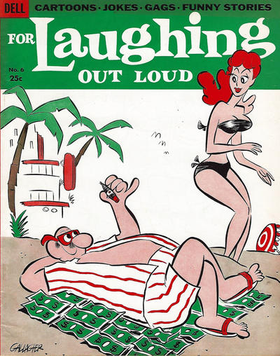 Cover for For Laughing Out Loud (Dell, 1956 series) #6