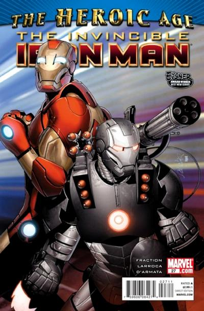 Cover for Invincible Iron Man (2008 series) #27