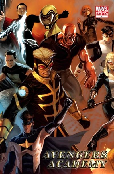 Cover for Avengers Academy (2010 series) #1