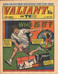 Cover Thumbnail for Valiant and TV21 (IPC, 1971 series) #7th July 1973