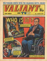 Cover Thumbnail for Valiant and TV21 (IPC, 1971 series) #18th August 1973