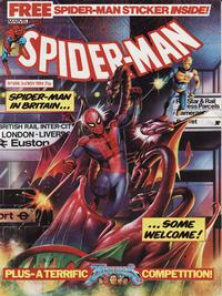 Cover Thumbnail for Spider-Man Comic (Marvel UK, 1984 series) #608