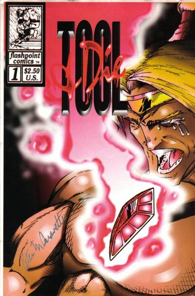 Cover for T & D [Tool & Die] (Flashpoint Comics, 1994 series) #1