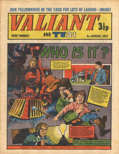 Cover for Valiant and TV21 (1971 series) #6th January 1973