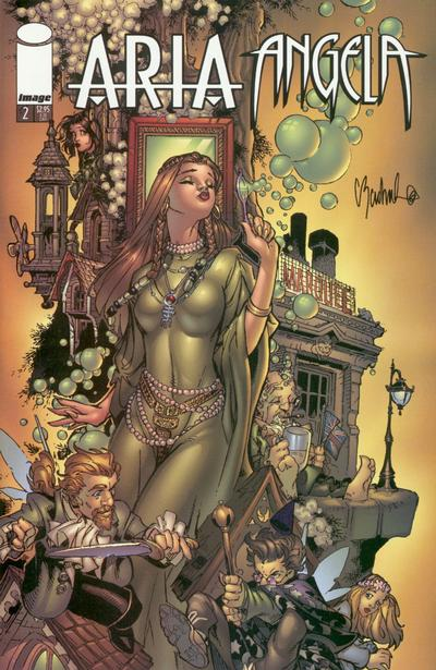 Cover for Aria Angela (Image, 2000 series) #2 [Anacleto Cover]