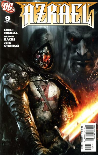 Cover for Azrael (DC, 2009 series) #9