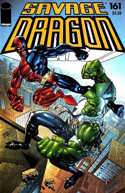 Cover for Savage Dragon (Image, 1993 series) #161