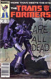 Cover Thumbnail for The Transformers (1984 series) #5 [Newsstand Edition]