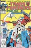 Cover for The Transformers (Marvel, 1984 series) #42 [Direct]